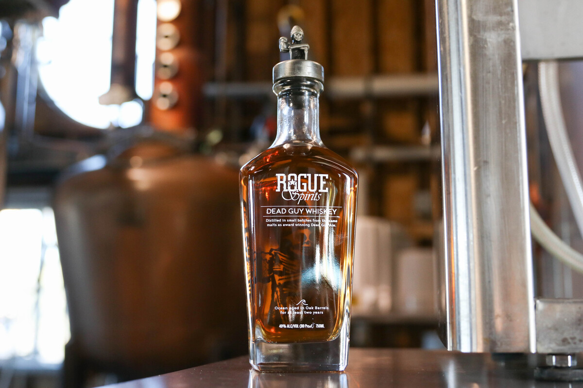 Rogue Spirits Dead Guy Whiskey took home a bronze medal from the 2019 San Francisco Spirits Competition.