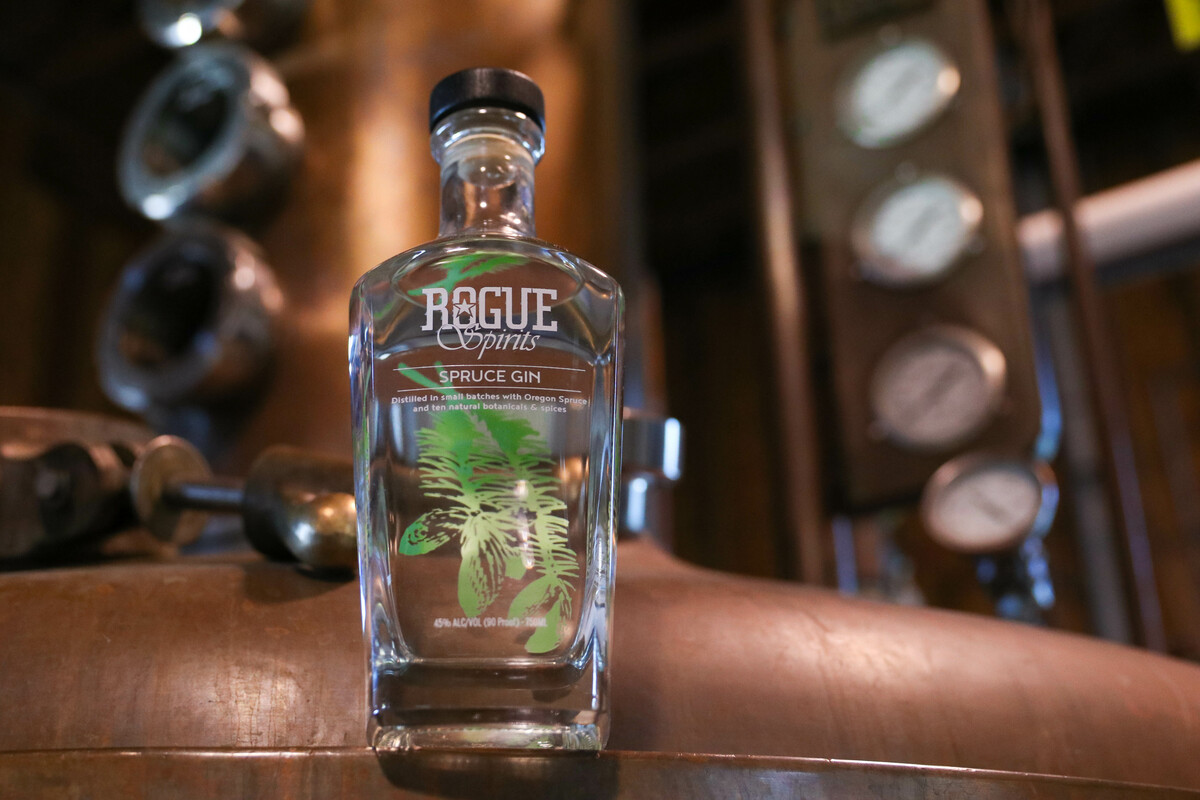 Rogue Spirits Spruce Gin was also awarded bronze at the 2019 San Francisco Spirits Competition.