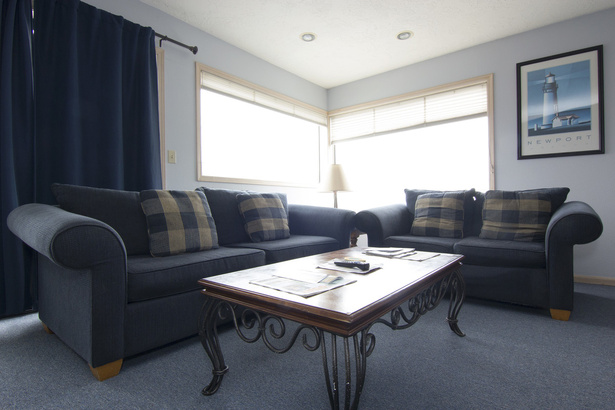 Explore Newport or just relax on the couch in the living room and watch TV.